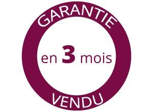 """Garantie Avéo* """" Vendu en 3 mois """""""